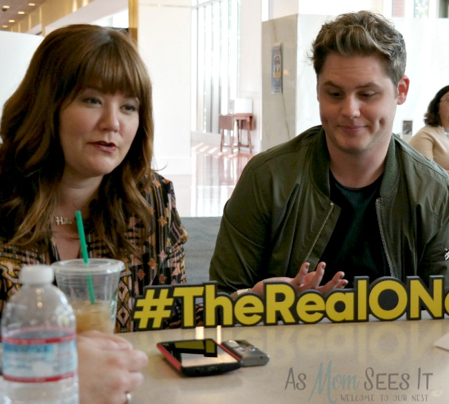 Mary Hollis Inboden and Matt Shively talk about their Real O'Neals characters