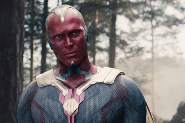 Paul Bettany as Vision in the MCU