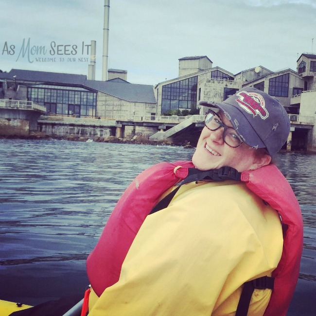 Kayaking on Cannery Row in Monterey Bay
