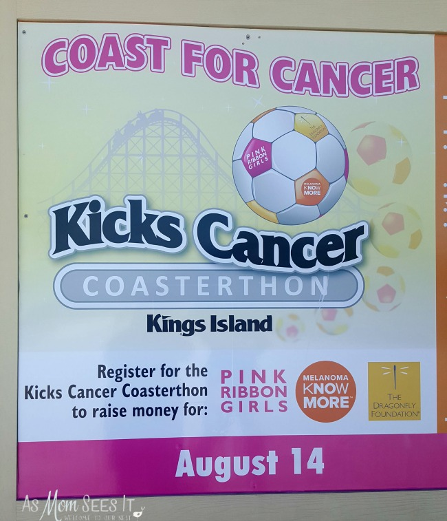 Kings Island Kicks Cancer