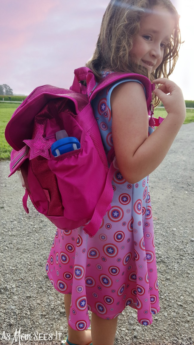 Find out why my kindergartner loves her new Bixbee Backpack