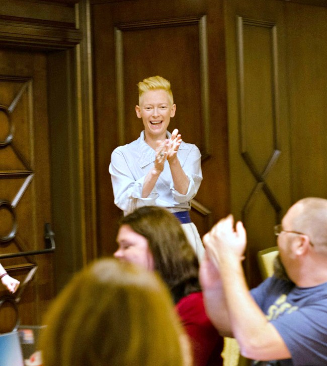 Tilda Swinton interview on her role of The Ancient One in Marvel's Doctor Strange