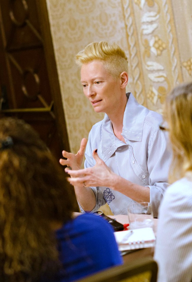 Tilda Swinton interview about her role in Marvel's Doctor Strange