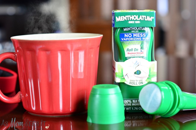 Fight colds and flu naturally with Mentholatum No Mess Vaporizing Rub
