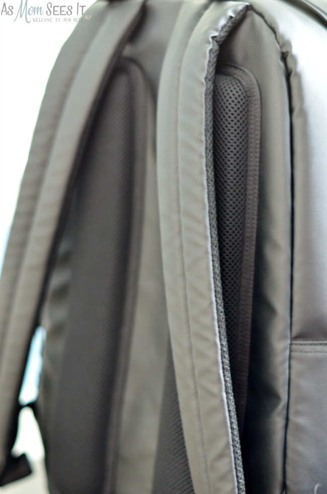 Birksun Solar Backpack has comfortable straps and padded strips