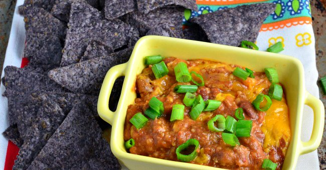 The best recipe for Cheesy Chili Bean Dip