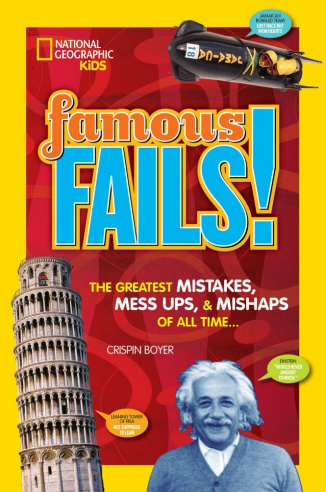 National Geographic Kids Famous Fails