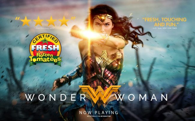 The new Wonder Woman film is in theaters now and is breaking box office records