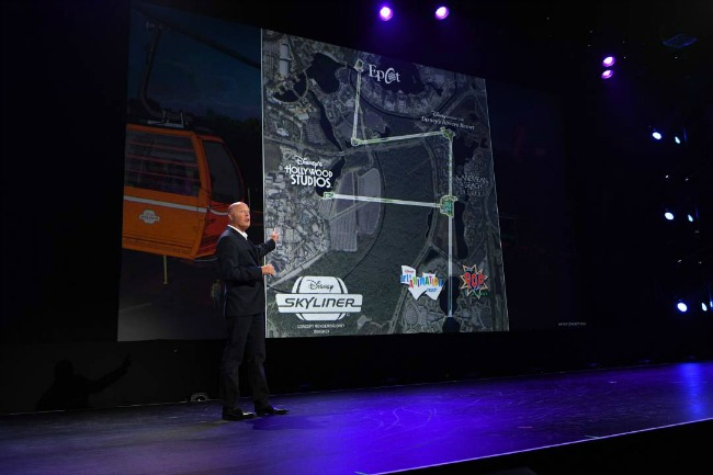 The new Disney Skyliner will give park guests a new way to get around Walt Disney World