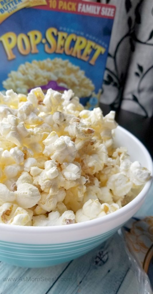 Cake Mix popcorn is a perfect mix of sweet and salty