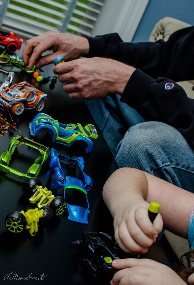 Modarri lets kids completely customize their own cars by mixing and matching parts