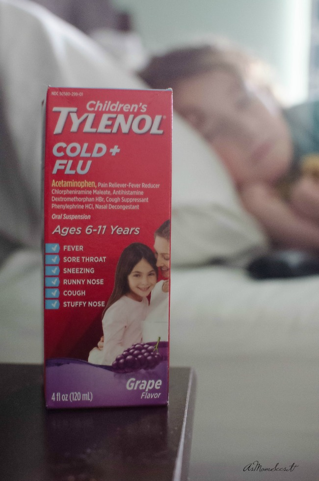 Children's TYLENOL® Cold + Flu provides multi-symptom and it's from a name we trust - TYLENOL®.