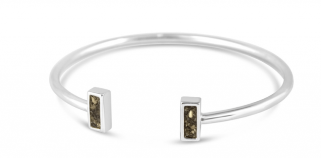 Win a Sterling Silver Sandbar Cuff from Dune Jewelry valued at $150!