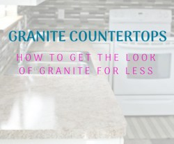Granite Countertops On A Budget