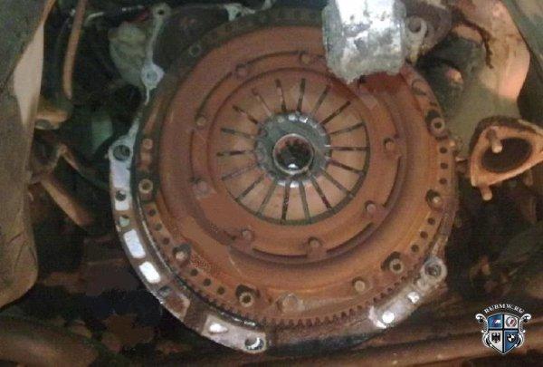Фотоотчет по снятию КПП на BMW E34 M50