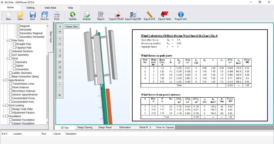 Load Calculation - ASMTower