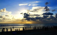 kuta-blue-sunset