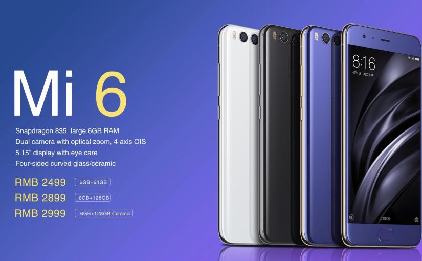 Nyinyirin Xiaomi Mi 6
