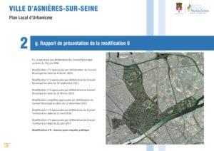 thumbnail of Rapport de présentation de la modification 6