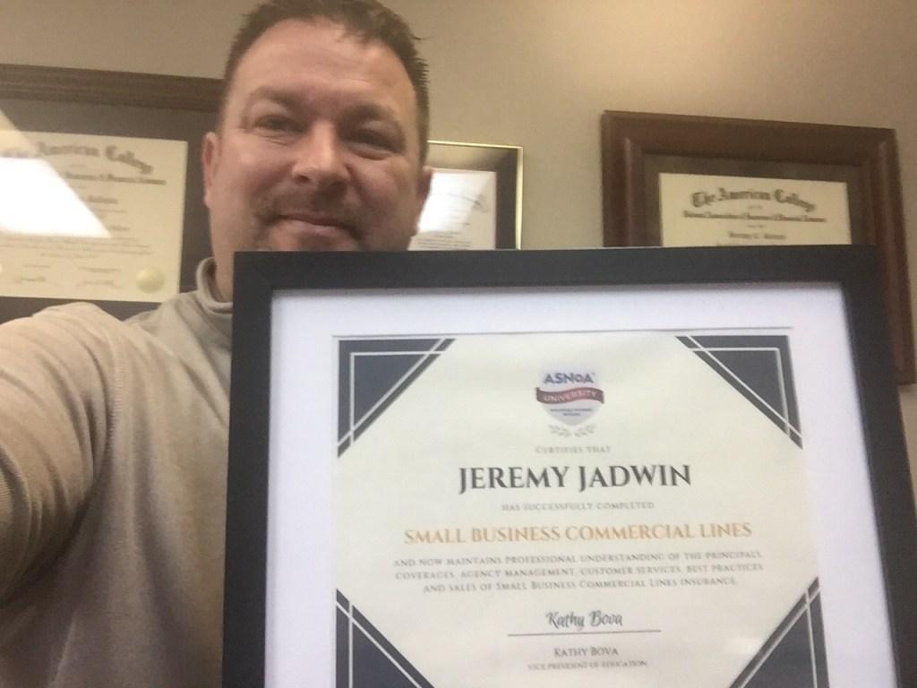 Jeremy Jadwin - MO - Jadwin Insurance Services