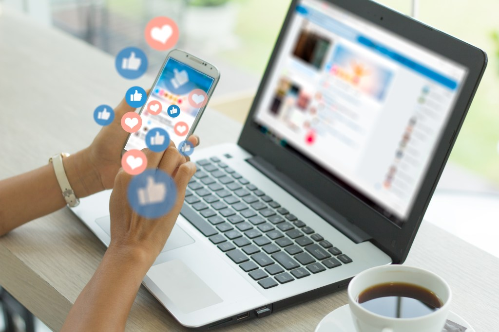 Social media contests for insurance agents