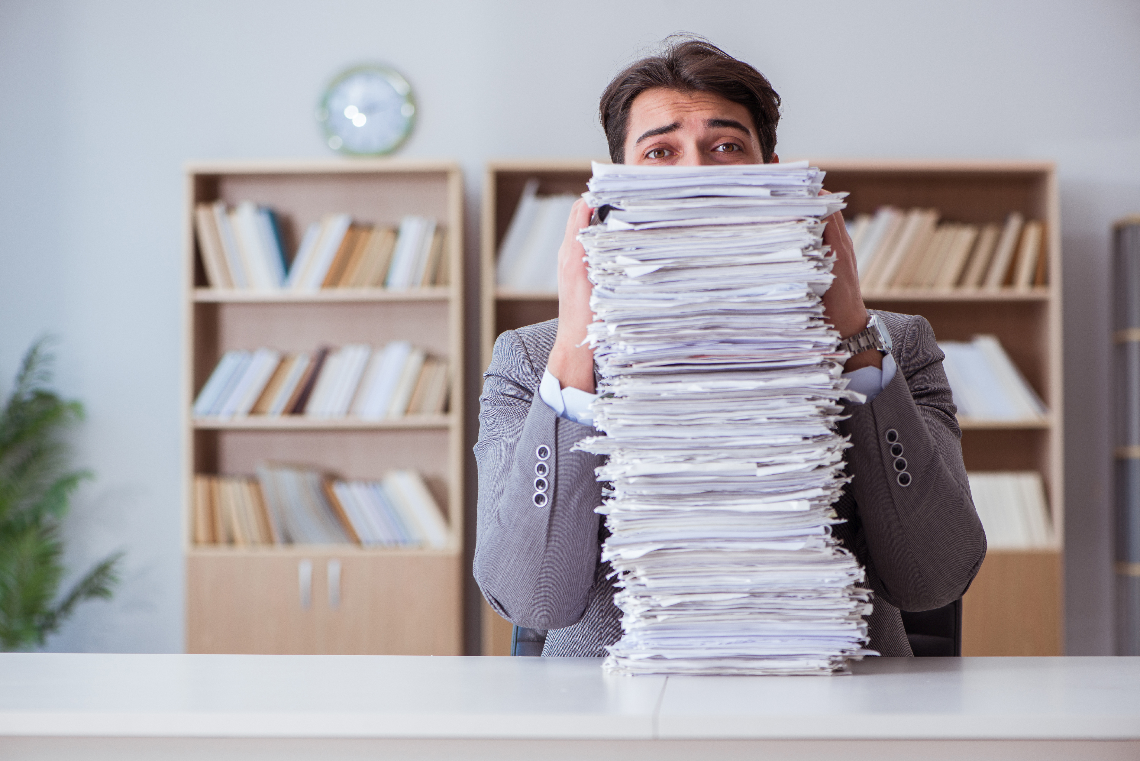 Overwhelmed by documents