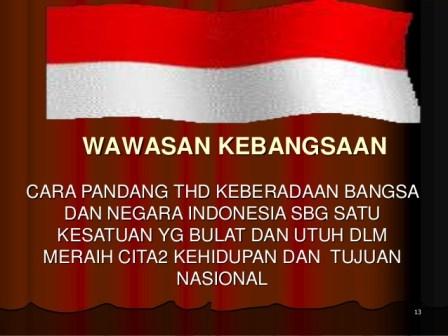 wawasan kebangsaan