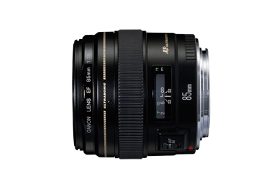 EF85mm F1.8 USM-view