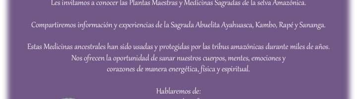 Encuentro con La Medicina. Charla gratuita con Arelis Atani