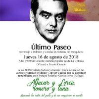 El Último Paseo de Federico García Lorca
