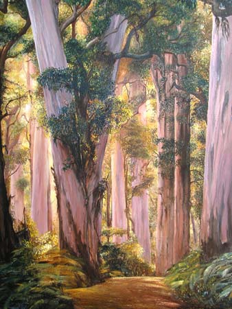 Resultado de imagen para eucaliptos pintura