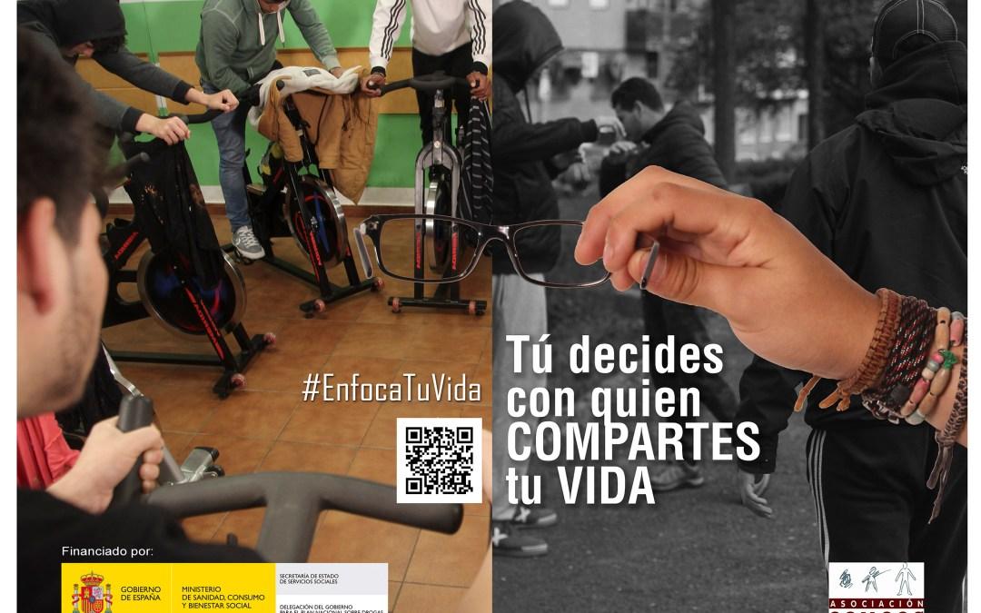 Campaña de Prevención de Adicciones 2019 #EnfocaTuVida