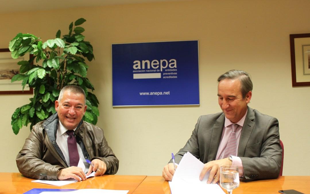 ANEPA y DIA firman un convenio por la seguridad vial
