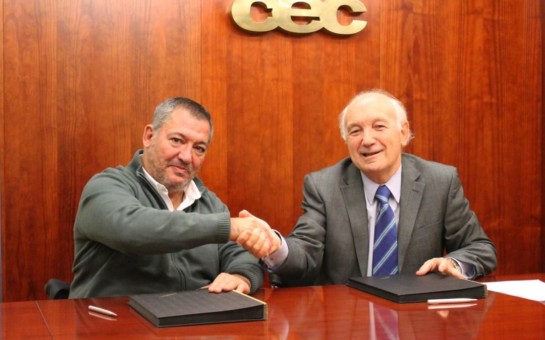 La Confederación de Empresarios de La Coruña firma el convenio con DIA