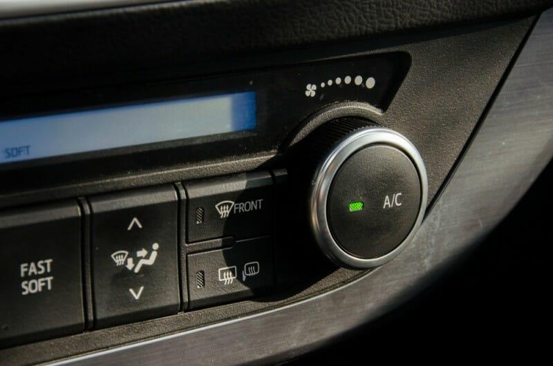 mantener el coche fresco