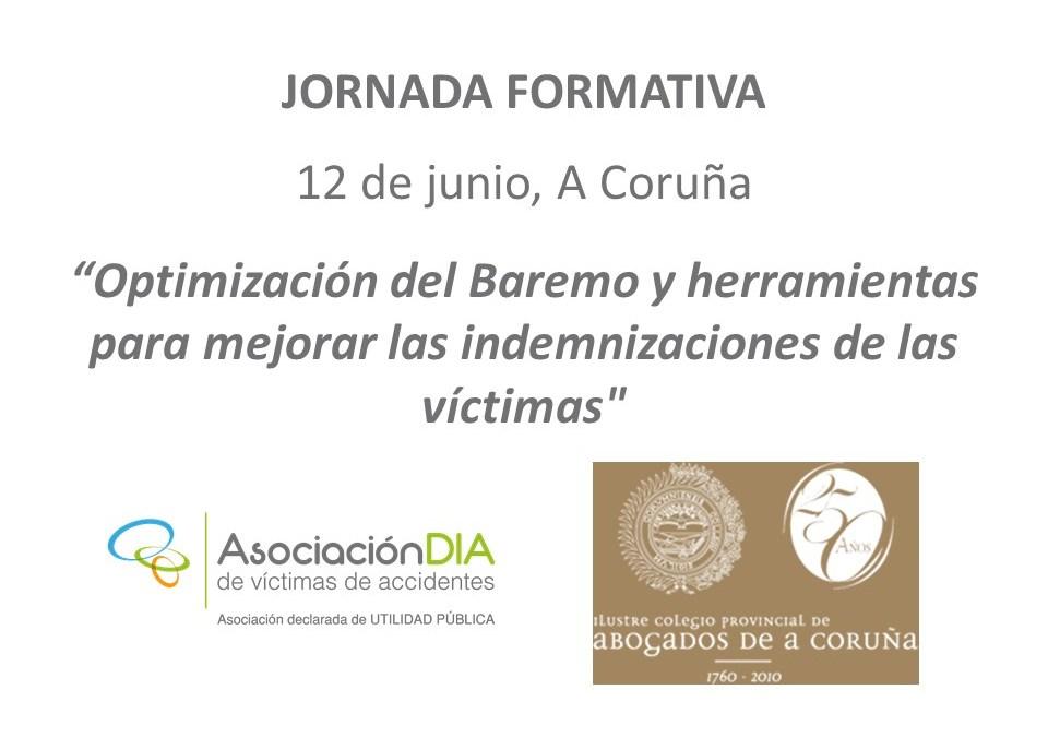 El 12 de junio el ICACOR acoge una jornada sobre la optimización del Baremo