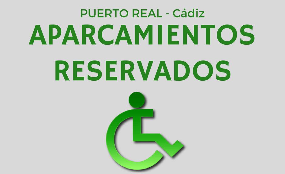 mapa aparcamientos reservados PuertoReal