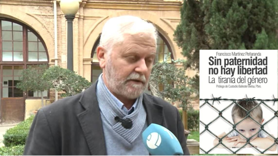 """Entrevista en la Televisión de Murcia a Francisco Martinez autor del libro """"Sin paternidad no hay libertad"""" de SND Editores"""