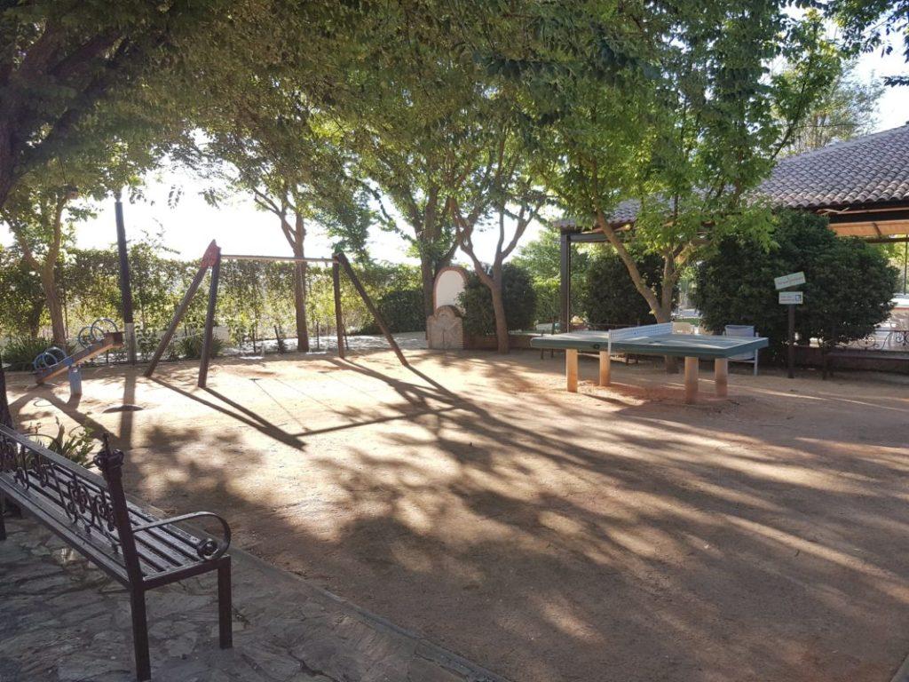 Parque infantil en el  VI Foro Andaluz de Galms