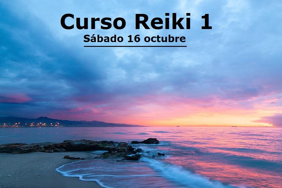 Curso Reiki 1 el 16 octubre 2021