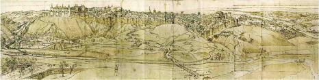 Dibujo_madrid 1562 Anto Van de Wyngearde