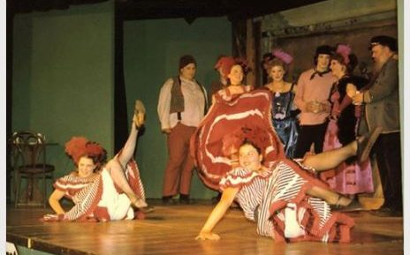 The Cast of Shanghaied in Astoria, 2003