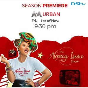 SHOW-STOPPING NANCY ISIME DAZZLES YET AGAIN