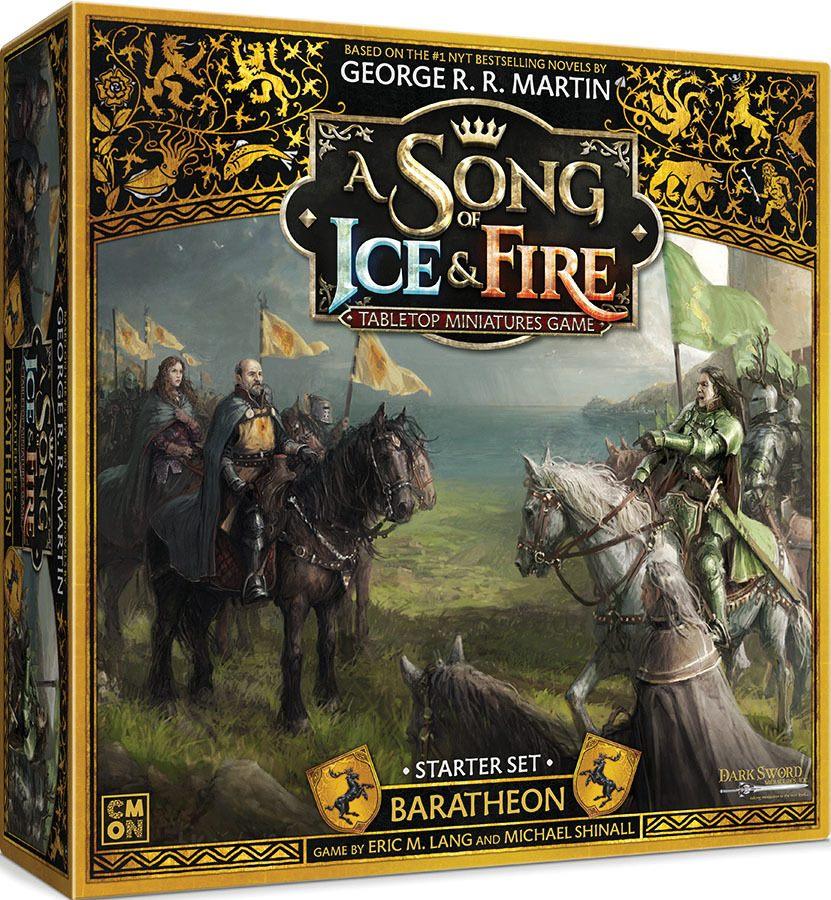 Baratheon Strater Set Boite de jeu