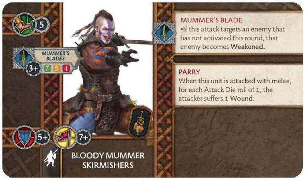 Bloody Mummers Skirmishers 28-09-19