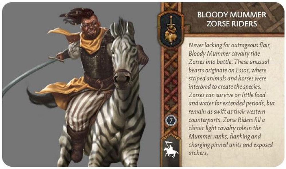 Bloody Mummers Zorse Riders 28-09-19