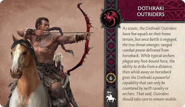 Dothraki Outriders (Recto) US