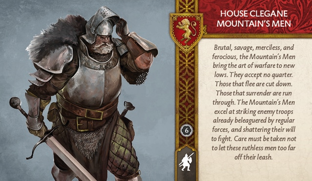 House Clegane Mountain's Men Front