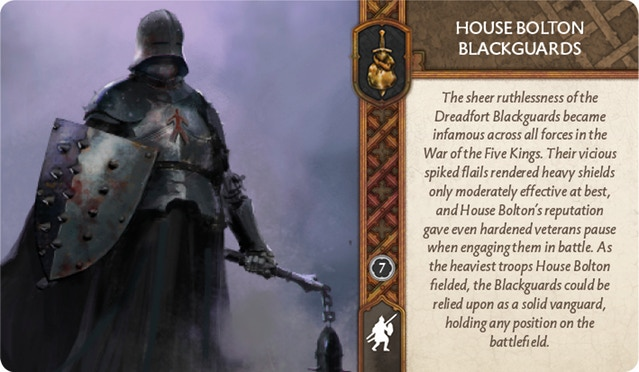 house bolton blackguard asoiaf miniatures game competitive community