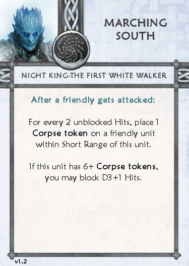 Others Tactics Card - Marching South